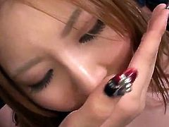 Cute Momoka Nishina Pleases Many males inside gang bang mov