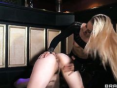 Angel Long enjoys another lesbian sex session with her girlfriend Lucia Love