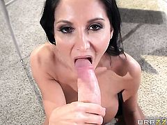 Van Wylde makes With juicy tits gag on his meaty love wand