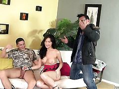 Alex Gonz attacks shameless Diana PrinceS anal hole with his love torpedo
