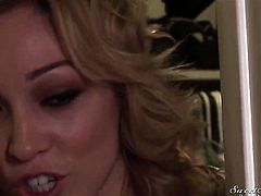 Evan Stone is one hard-dicked dude who loves oral sex with Lily LaBeau