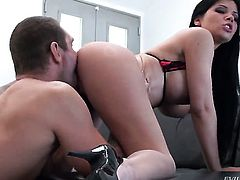 Hot tart is the one who wants to suck and gives head to Nacho Vidal