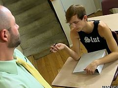 Educating a boy like Jasper can be a whole lot of fun for a hunky teacher like David