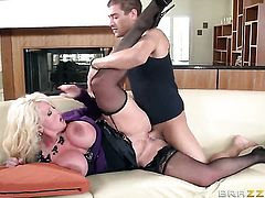 Xander Corvus has unthinkable sex with Breathtakingly hot doll Alura Jenson with bubbly ass