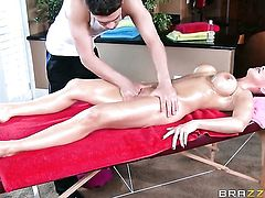 Bruce Venture gets pleasure from fucking Tanya Tate with massive hooters in her wet spot