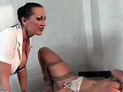Brunette Mandy Bright and Angelina Blue spend time doing it
