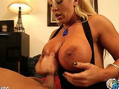 Big tits milf Alura Jenson gets fucked from behind