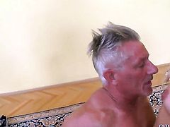 Andrea Francis is one hot cock rider that loves anal sex with Christoph Clark after cock sucking