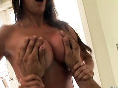 Monique Fuentes and Danny Mountain are so fucking horny in this dick sucking action