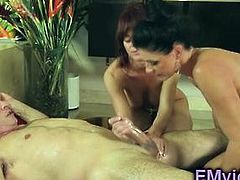 India Summer and Rahyndee James threesome