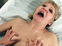 Blonde Kati Bell and Betty Stylle show their love for slit in girl-on-girl action
