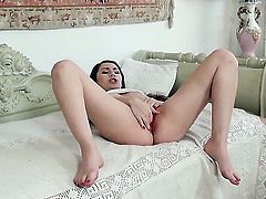 Stacy Snake with big breasts bares it all for cam