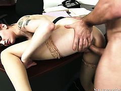 Johnny Castle is ready to make sinfully sexy Bree Danielss every sex fantasy come true