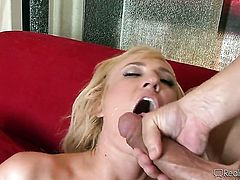 Evan Stone is horny and cant wait any more to fuck Victoria White with his erect ram rod