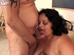 Granny Gusti wanted a filthy orgy for her birthday. She got it.