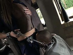 Kid Jamaica shoves his love wand in unbelievably hot Irina Brunis cunt