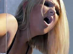 Blonde Lucy Heart having sensual butt sex