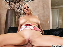 Emma Starr with juicy melons and bald twat is ready to spend hours fucking non-stop with Kris Slater