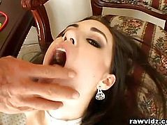 Sasha Grey's Raw Anal Drilling