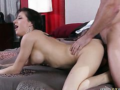 Charity Bangs gets her bush fucked by Johnny Castle for your viewing pleasure