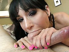 Jonni Darkko touches the hottest parts of yummy Gia DiMarcos body before he fucks her mouth