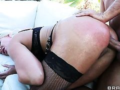 Sadie Swede and her hard dicked fuck buddy Keiran Lee are in the mood for fucking