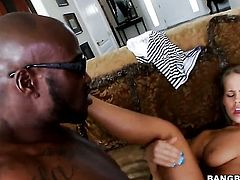 Britney Young does some interracial action