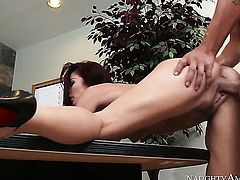 Monique Alexander does some office sex