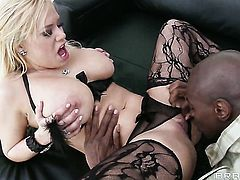 Sean Michaels is horny and cant wait any more to fuck unbelievably sexy Shyla Stylezs mouth