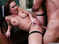 Katja Kassin loves anal sex and cant say No to hot guy Alan Stafford