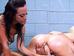 Jada stevens and a friend in a threesome