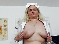 Doctor caught A head practical nurse being pervy