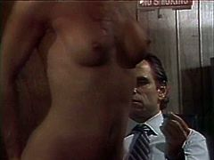 Businessman spanking his horny escort