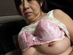 Erotic Mature Japanese aged Honey Is A Master Of A hand job