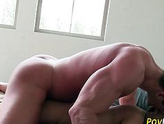 Teen newbie gets creamed