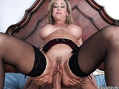 Giovanni Francesco gets turned on by Brandi Love and then bangs her twat