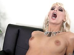 Erica Fontes tries her hardest to make hard dicked fuck buddy John E Depth bust a nut with her mouth