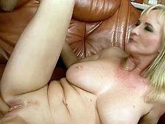This is a hot fisting action close by VicToRia swinger. sexy Mature with Blonde hair has this guyr pussy fisted by erotic brunette