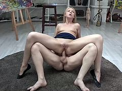 Visit official Anal Teen Angels's HomepageCurvy ass slut goes nasty in anal hardcore and enjoys cock deep cracking her butt hole until exhaustion