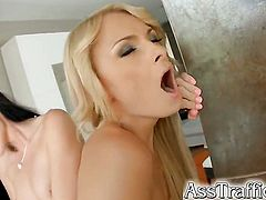 April Blue and Ivana Sugar in a threesome