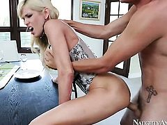 Tyler Nixon uses his throbbing meat stick to bring Asian Mikki Lynn to the edge of nirvana