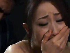 Erika Aisaki has Brutally made love By Her Husband Indoors
