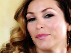 Heather Vandeven strips down to her bare skin and then masturbates for cam