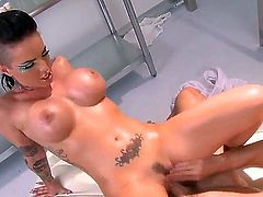 Hot, sizzling petite babe christy mack takes a hold of johnnys massive cock and sucks him and fucks him till she gets numerous orgasms in this action packed video of the two