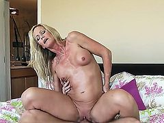 Hardcore sex with hot bodied MILF Simone Sonay