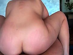 We see a lovely Latina giving a blow job. Then she takes that hard cock and puts it in her ass for an anal gangbang. She rides it like a cowgirl.