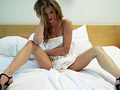 Visit official Playboy's HomepageAppealing girl from Playboy, Brittany Brousseau, amazes with her nude forms during a sensual solo posing session