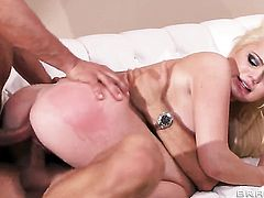 Alexis Ford gets fucked by 2 men