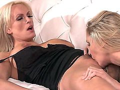 Julia Ann and Stormy Daniels fingering