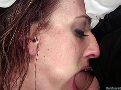 slutty milf gets double penetrated
